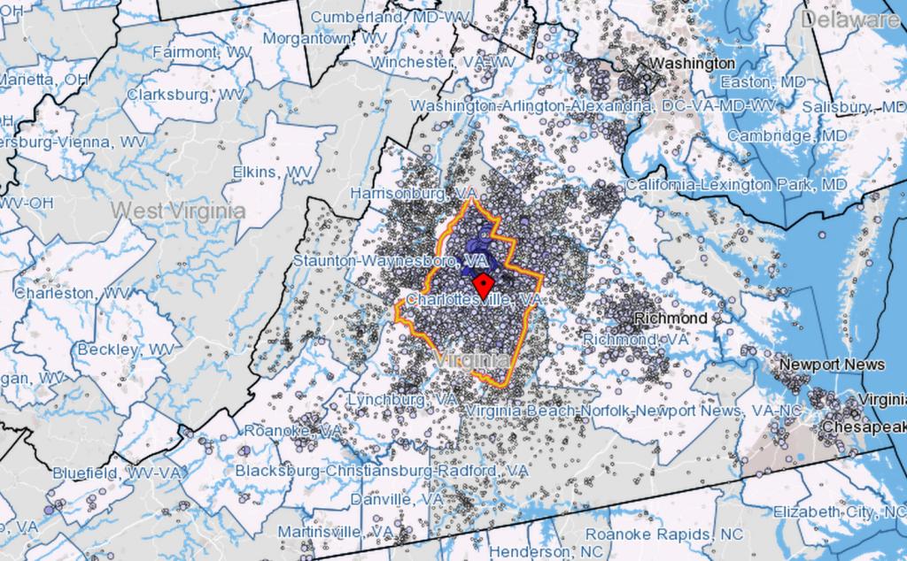 Where Charlottesville Works